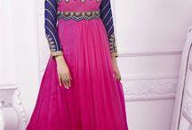 Designer Anarkali Dresses By SareesBazaar / Shop latest floor length designer anarkali suits, long length anarkali, embroidered anarkali salwar kameez online in UK from SareesBazaar.  -> http://www.sareesbazaar.co.uk/Catalogue/Salwar-Kameez/Anarkali-Dresses