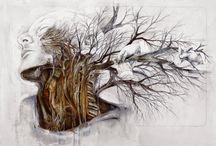 Dream of winter pruning / Nunzio Paci Artwork