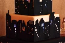 new york skyline cakes