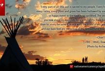 Native American Wisdom                                            n / by Al Bo