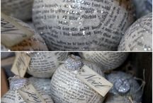 Holidays: Ornaments I Adore / I absolutely LOVE ornaments and decorating my tree. These are a few of the favorites I keep finding. Many you can make yourself! / by Nicole Cook {Daily Dish Recipes}