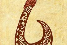 Tattoo maori sea