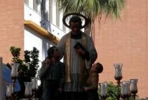 María Auxiliadora - Triana - 2014 / Salida procesional de San Juan Bosco y María Auxiliadora por las calles de Triana, el pasado 24 de mayo de 2014.  http://www.trianaocio.es/#!cofrade/c1d94
