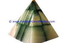 ONYX LAMPS PYRAMIDS SHAPED TABLE LAMPS HANDCARVED NATURAL STONE LIGHTING HOME OFFICE DECOR GIFTS