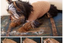 Knitted dog jersery / Doggies warm