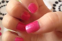 Pink nails / #nail #art #pretty