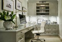 "Home Office / Pin your favorite #Home #Office ideas, decor, organization, and furnishings! Once you have joined, click on ""Edit board"" and ... / by Maher Mashaal"