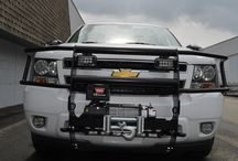 Winches and Grill Guards