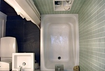 bathroom reno / by Ellen Sinkey