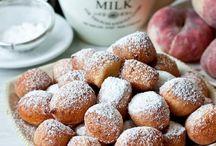Рецепты Пончики Плюшки