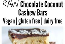 Chocolate Coconut Cashew Bars