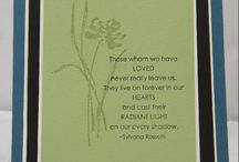 Cards and more-Sympathy / by Karen Howard
