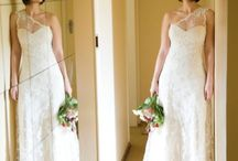 Lace Dimity gowns