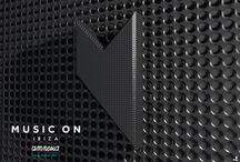 MUSIC ON (Ibiza) // 3D Logo