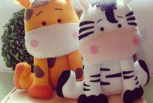 Softies and felt toys...
