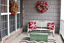 Front porch decor / by Kim Vincent
