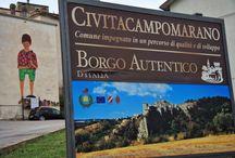 Cvtàstreetart 2016 Civitacampomarano / Festival di Street Art organizzato da Alice Pasquini nel borgo di Civitacampomarano (CB)