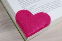 закладка сердце