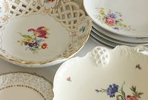 China...Plates & Serving Dishes / by Carolyn Straup