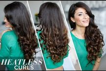 perfect heatless curls!