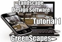 Tutorials 1-5 Landscape Design Software GreenScapes / Landscape design software should be easy. GreenScapes takes you from start to finish in a landscape design with the first 5 tutorials.