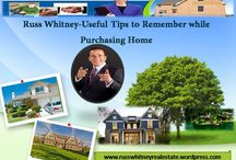 Russ Whitney-Useful Tips While Purchasing Home / The home ownership can help many of us to save cash while buying a home.Try to make sure you get approved for a home loan before you shop for a home.