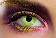 Coloured Contact Lenses / Here's our new range of funky eye accessories.