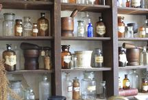 old-fashioned pharmacy design