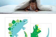 Retro Dinosaur bedroom