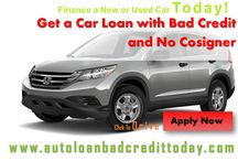 No Cosigner Car Loans / AutoLoanBadCreditToday is the best Company for Auto Financing with No Cosigner. We offers best deals in car loans for bad credit people.