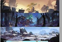 Background Paintings