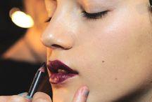 Fall runway makeup looks / by luis casco