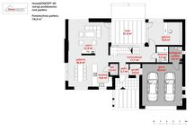 HomeKONCEPT 40 | Projekt domu / HomeKONCEPT 40 to nowoczesna willa zaprojektowana z myślą o Klientach szukających innowacyjnych rozwiązań projektowych oraz bardzo wygodnych i funkcjonalnych wnętrz. Budynek powstał na bazie wyjątkowego projektu domu HomeKONCEPT 13.