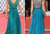 vestidos azul