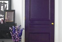 Purple. / Purpled things.