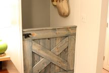 Dog gate / by Kristy Holcomb Mathis