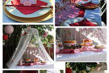 Mes réceptions... My receptions! / Stylisme , Art de la table et réceptions! Stylism, table art and receptions!