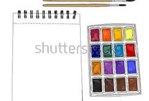 Shutterstock art things