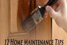 Home Maintenance / Maintenance and DIY Ideas