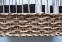 chiusura cesta in cannucce carta