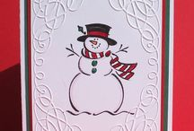 Cards for Christmas / Christmas Paper cards