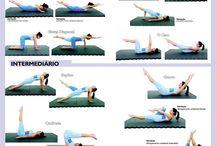 Treino de pilates
