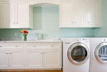 laundry room ideas / by Cheryl Miller