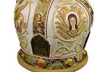 Золотная вышивка - евангелисты