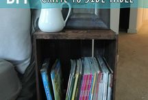 Ideer / Ideer til forskjellige ting som kan brukes eller lages til huset.