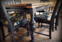Dining table DIY  / by Sharon Taylor