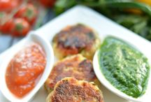 Indian chaat items