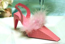 Shoes - Fierce, Sexy - I Want Them! / Shoe fashionistas rejoice! These gorgeous shoe favor boxes are great for bridal showers, bachelorette parties, stiletto shoe celebrations or any high heel party!