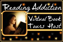 Virtual Book Tours / Banners and icons of virtual book tour sites and featured stops at The ToiBox of Words.