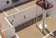 beautiful Marine Deck / When it comes to giving your boat that touch of elegance and luxury, nothing beats the look of teak decking